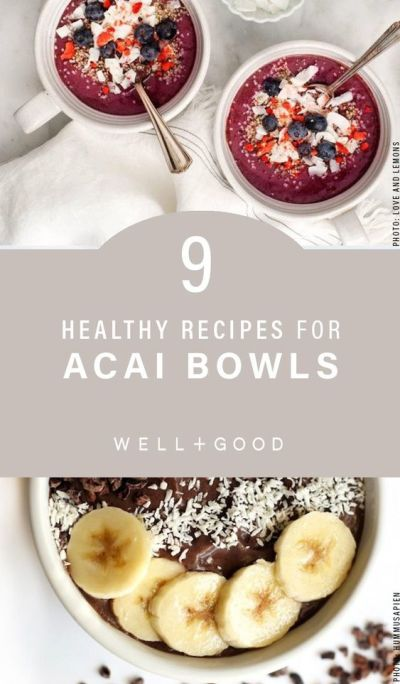 Acai Bowl Ideas!
