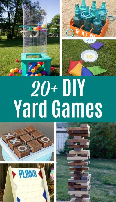 DIY Yard Games!