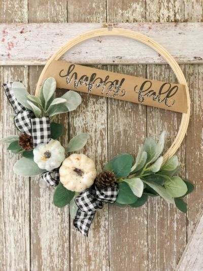Fall DIY Wreath!