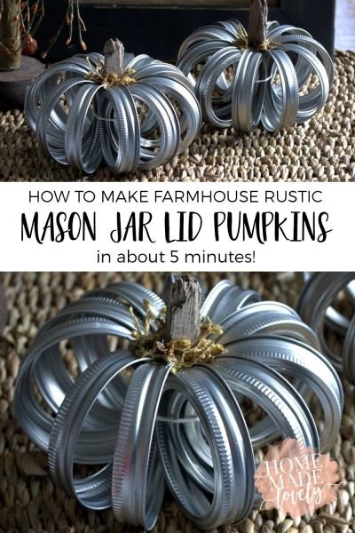 Mason Jar Pumpkins?! WHAT?!