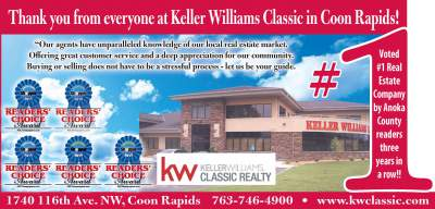 Keller Williams Classic Realty Awarded 2017 Reader's Choice Award