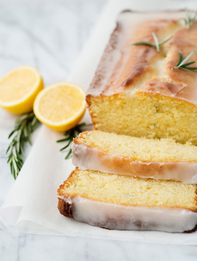 Lemon Rosemary Pound Cake – You Have To Try This