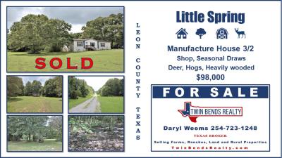 5.5 Leon County Texas