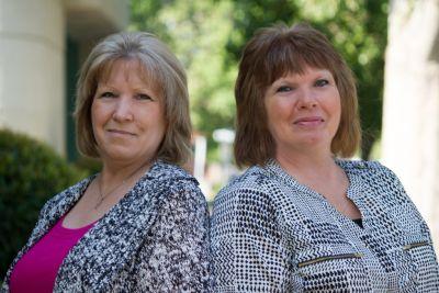 Donna DeHart & Kathy Cross