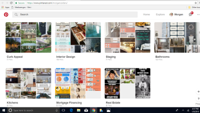 Pinterest Tips and Ideas for buyers/sellers/homeowners