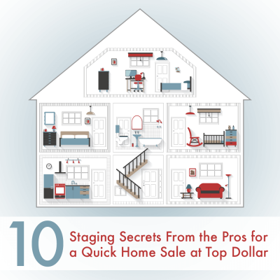 "10 Pro Tips for ""Staging"" Your Home"