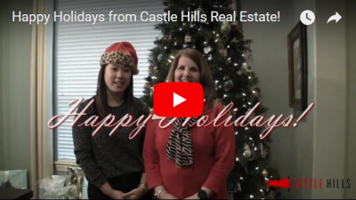 Happy Holidays from Castle Hills Real Estate!