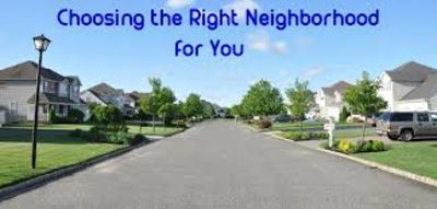 4 Tips to Find the Right Neighborhood