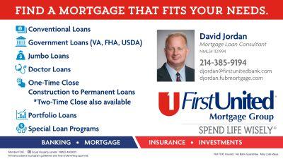 David Jordan: First United Bank