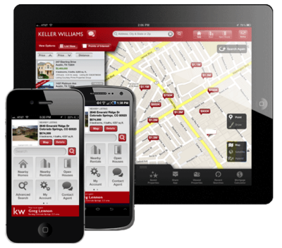 Find and Share Homes With our KW App!