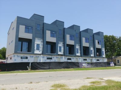 Developing Townhomes Near Pearl Brewery