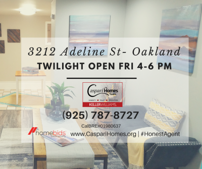 Twilight Open – 3212 Adeline St, Oakland