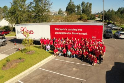 KW CARES PROVIDES HOPE AND RELIEF IN THE WAKE OF HURRICANE FLORENCE
