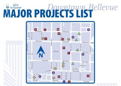 Downtown Bellevue Major Project List