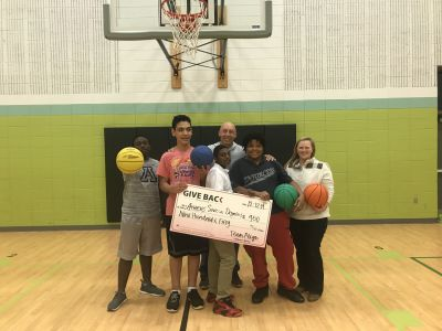 Reign makes a GIVE BACK to the Athens Area Special Olympics