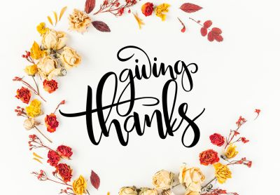 GIVING THANKS for the People Around Us