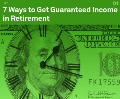 7 Ways to get income in retirement