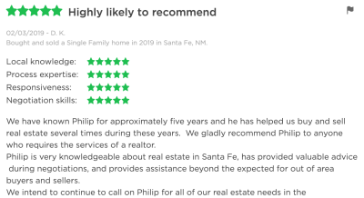 What Philip's Clients Say