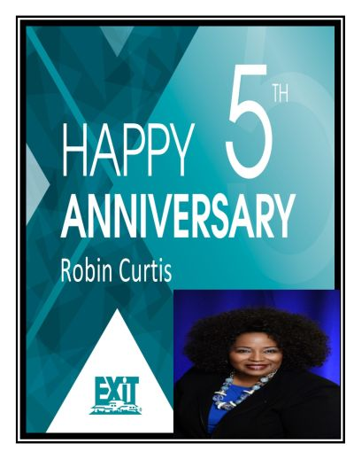 Happy 5th Anniversary Ms. Robin German-Curtis