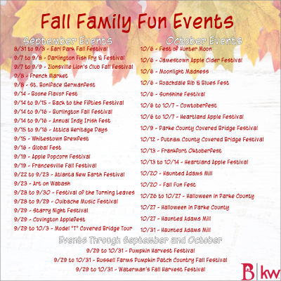 Fall Family Fun Events
