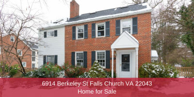 6914 Berkeley St Falls Church VA 22043 | Home for Sale