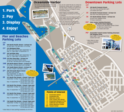 Oceanside Parking Map!