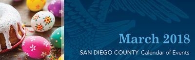 March 2018 – San Diego Events