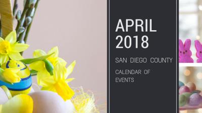April 2018 – San Diego Events