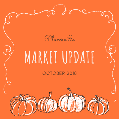 Placerville Market Update October 2018