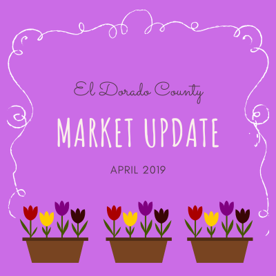 April 2019 El Dorado County Real Estate Market Update