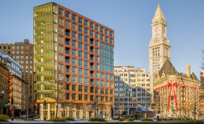 Luxury Condo The Boulevard in Boston is Completed