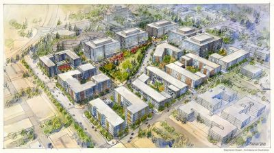 Capstone Partners Rolls Dice with Big Office Project in Redmond