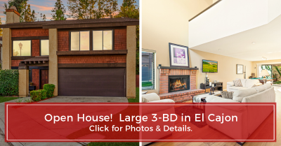 Just Listed – Executive-style 3-BD in El Cajon
