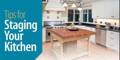 Tips for Staging Your Kitchen