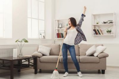 HOW TO KEEP YOUR HOME SPARKLING CLEAN IN 15-30 MINUTES A DAY