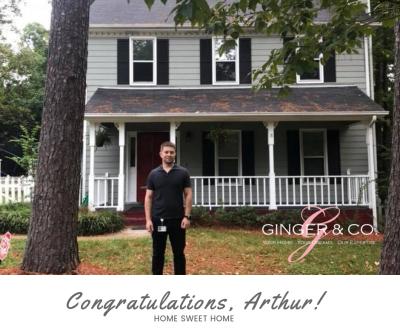 Congrats, Arthur!