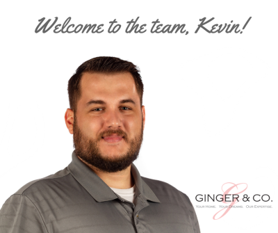 Welcome to the team, Kevin!
