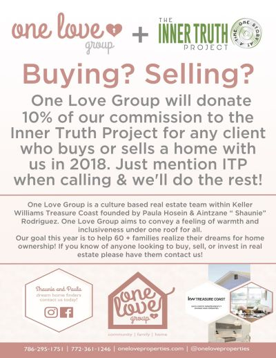 The Inner Truth Project + One Love Group