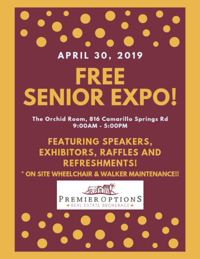 FREE Senior Expo this Tuesday, April 30th!