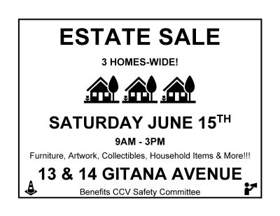 3 Home Estate Sale Saturday!