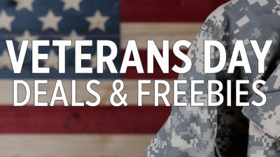 Freebies & Discounts for our Heroes (Veterans Day 2018)