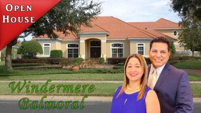 Open House Windermere Florida Balmoral Community