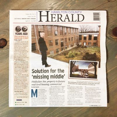 In The News: Park Central Lofts