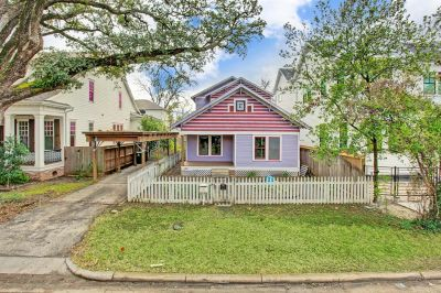 714 E 24th, Offered at $599,000, was JUST SOLD in Houston Heights!