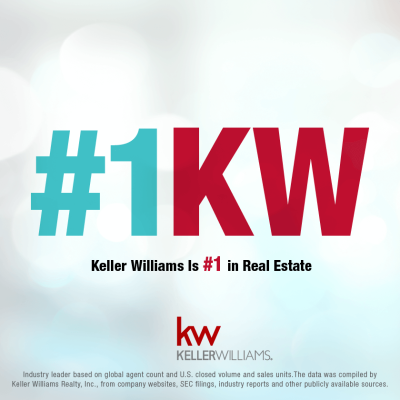 KW No. 1 Real Estate Franchise in the U.S.
