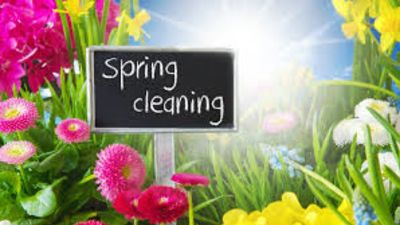 ROOM BY ROOM SPRING CLEANING GUIDE