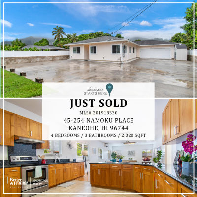 Just Sold! | 45-254 Namoku Place