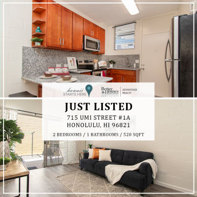 Just Listed | 715 Umi Street #1A