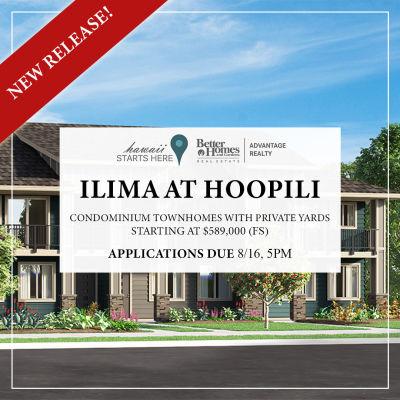 Ililma at Hoopili Lottery | August 17, 2019