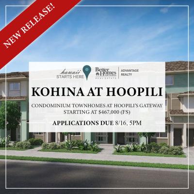 Kohina at Hoopili | August 17, 2019